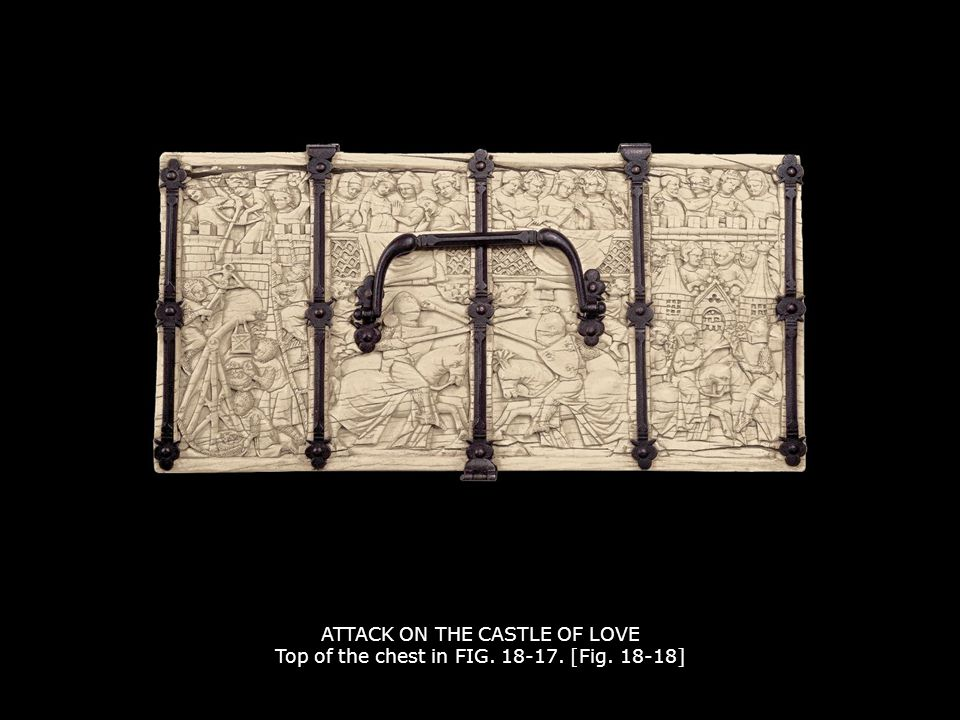 ATTACK ON THE CASTLE OF LOVE Top of the chest in FIG. 18-17. [Fig